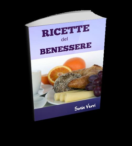 ebook ricette del benessere