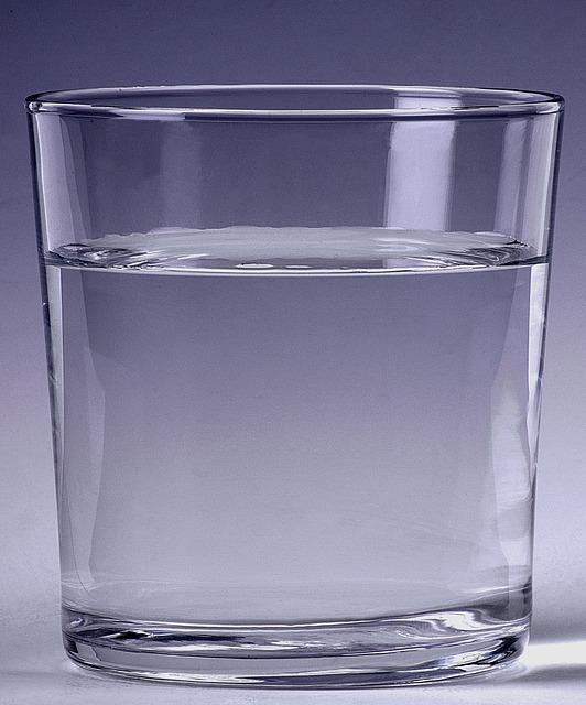 come utilizziamo l'acqua che beviamo